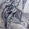 Study of Michelangelo renaissance stye